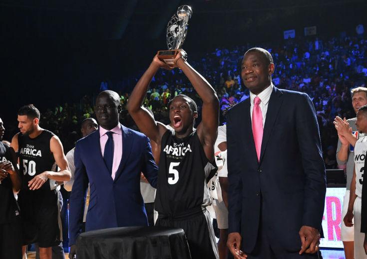 ヨハネスブルクで行われたNBAのエキシビジョンゲーム、『チーム・アフリカ』は敗れるもビクター・オラディポがMVPに輝く
