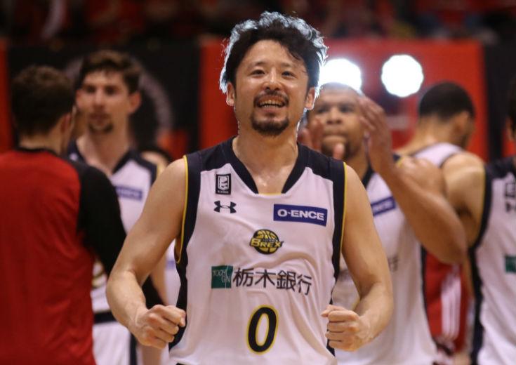 [CLOSE UP]田臥勇太(栃木ブレックス)勝利を呼び込むビッグプレーを連発、反省と準備を繰り返し頂点を目指す