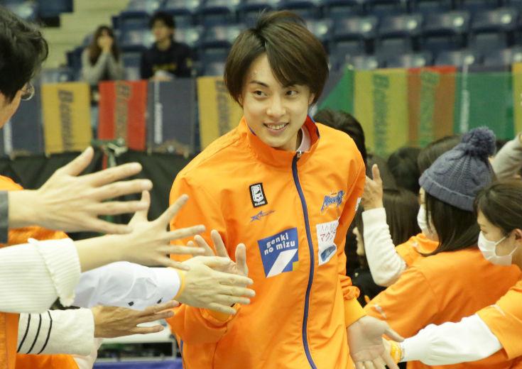 好調が続く新潟、司令塔の五十嵐圭「チームとしてすごく良い方向に向かっている」