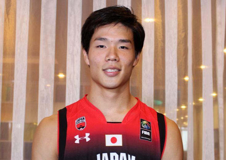 男子日本代表激励会に参加し英気を養った馬場雄大、東京オリンピック出場は「子供たちに夢を与えられる」