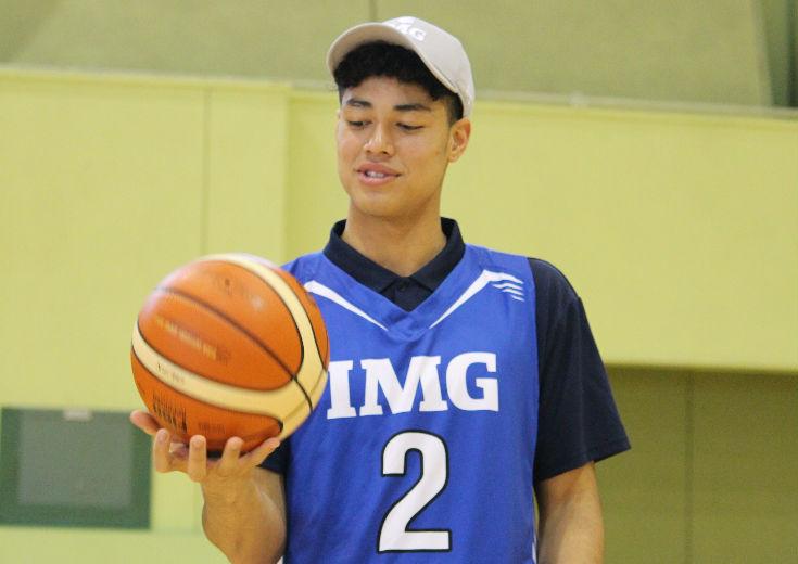 IMGアカデミー進学の夢を叶えた田中力の野望「日本バスケのイメージを変えたい」