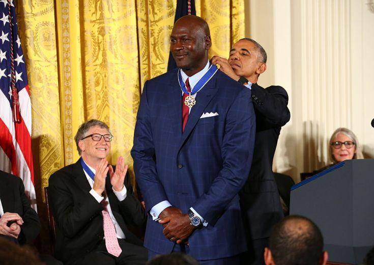 マイケル・ジョーダンとカリーム・アブドゥル・ジャバーが大統領自由勲章を受賞