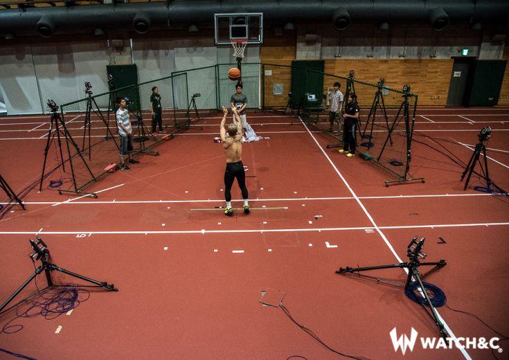 日本スポーツ界を支える研究機関がプロバスケットボール選手の動きを分析