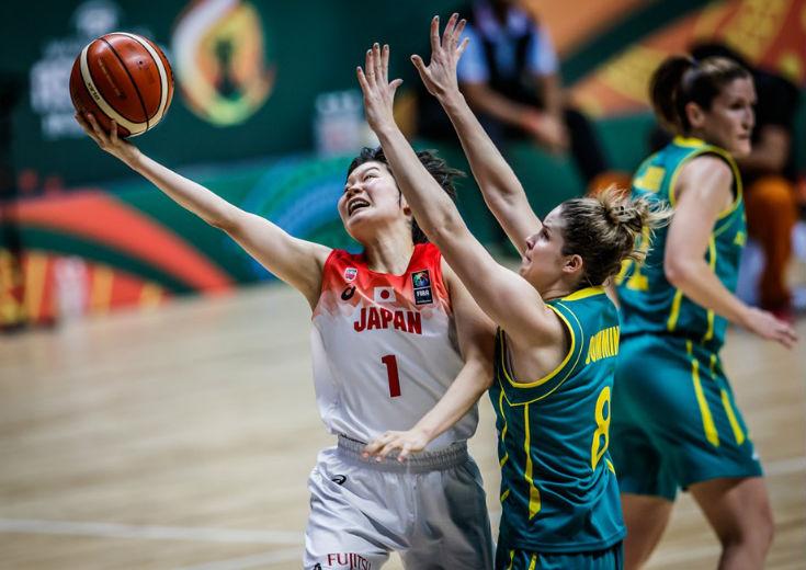 得意のトランジションバスケットを封じられた女子日本代表、藤岡麻菜美のダブル・ダブルも実らずオーストラリアに惜敗