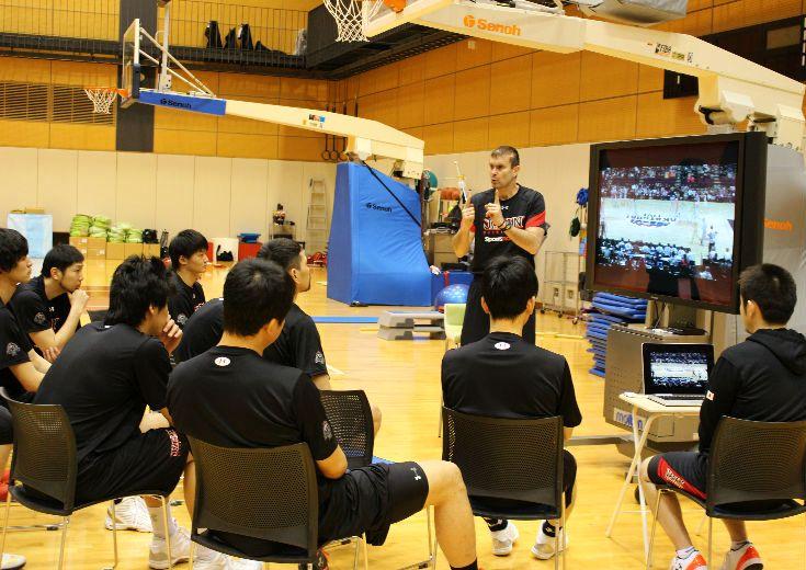 男子日本代表強化合宿第2班、攻守ともに世界基準のピック&ロール体得に注力