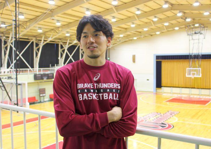 優勝候補の川崎ブレイブサンダース、司令塔の篠山竜青は開幕戦に必勝を期す「ホームのファンの皆さんのためにも勝ちたい」