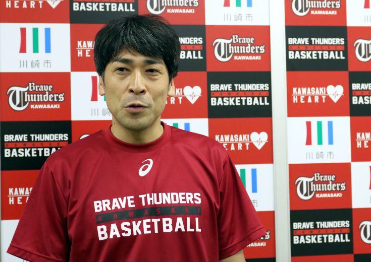 北卓也ヘッドコーチ(川崎ブレイブサンダース)東地区編入も「厳しいからこそもっと人気のあるチームになれる」とプラスに