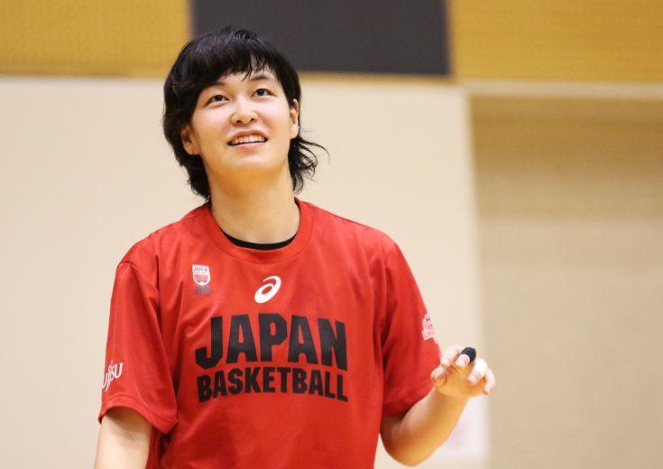アジアカップを控え国際強化試合に臨む女子日本代表、不動のセンター大﨑佑圭は「トムが求めている完璧なバスケをしたい」