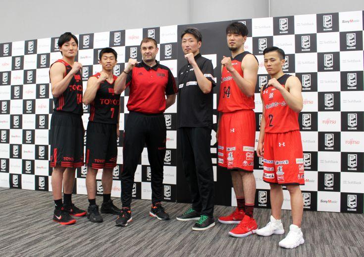 A東京と千葉が『夢のアリーナ』での決戦を明日に控え会見「良いファイナルに」