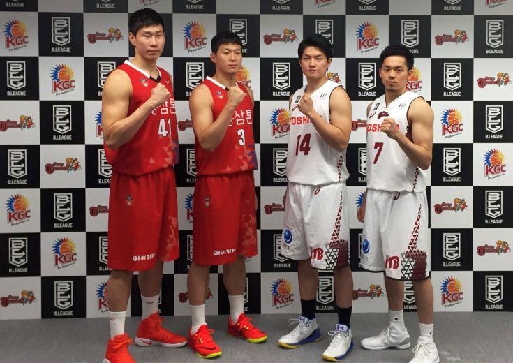 東アジアクラブチャレンジカップの発表会見、辻直人は「相手選手よりもシュートを決める」