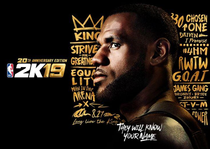 『NBA 2K』最新作は9月発売、20作目のカバーにはレブロン・ジェームズが登場!