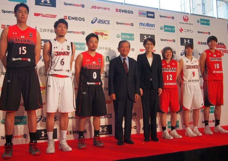 新生日本代表のお披露目、新たな愛称は「AKATSUKI FIVE」に決定!