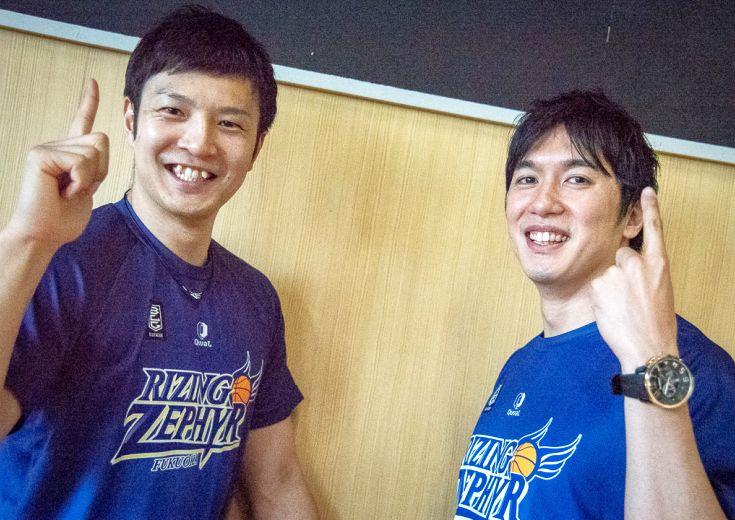 ライジングゼファーフクオカの山下泰弘&小林大祐が見据えるB1での戦い(後編)「福岡が誇れるチームになりたい」