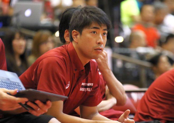 アーリーカップで川崎ブレイブサンダースの指揮を任された佐藤賢次アシスタントコーチ「一歩ずつステップアップしたい」