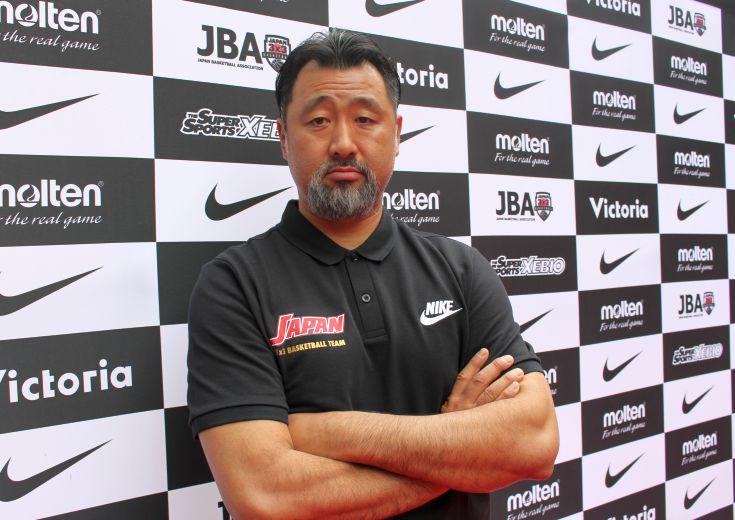 3x3日本代表コーチ長谷川誠が狙う、5人制との連動による日本バスケ全体の強化