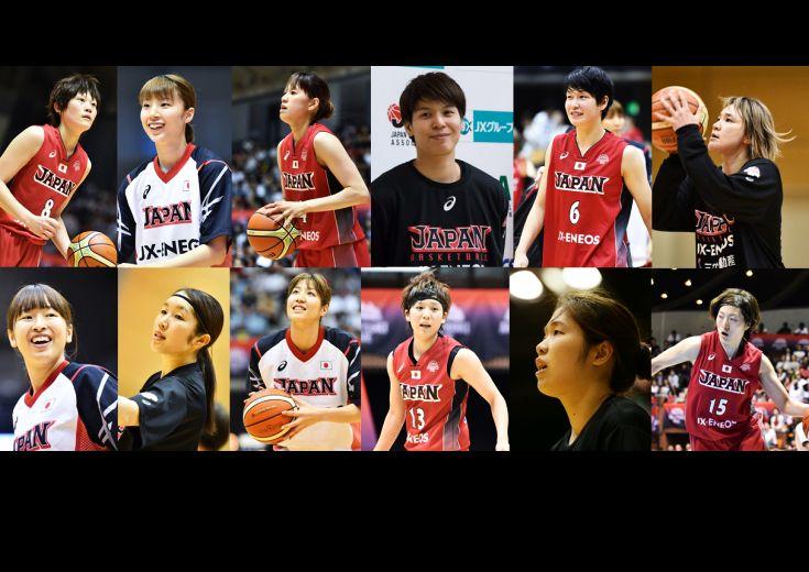 [指揮官の全選手紹介]リオ五輪で世界に挑むバスケットボール女子日本代表12名