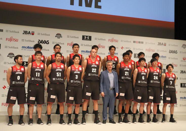 男子日本代表候補18名を発表、八村塁とニック・ファジーカスが初の代表入り