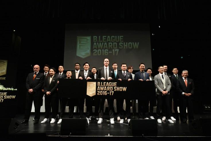 『B.LEAGUE AWARD SHOW』開催、レギュラーシーズン最優秀選手に選ばれたニック・ファジーカスは周囲の協力に感謝