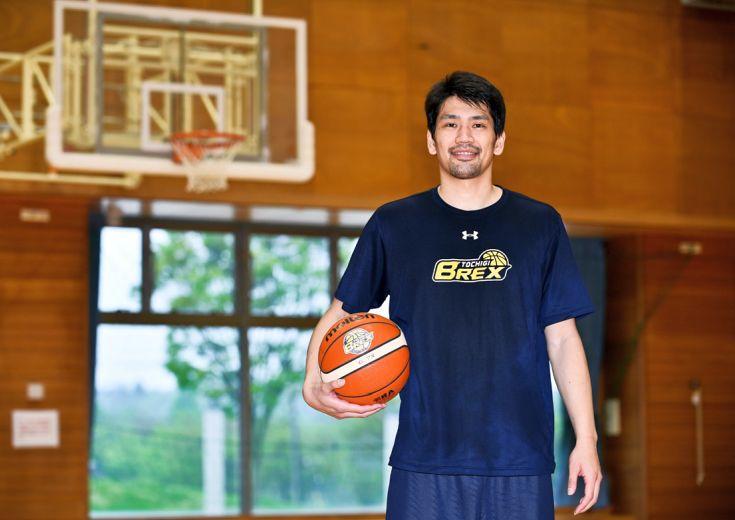 古川孝敏が語るバスケ部時代vol.1「ライバルに負けたくない一心で」