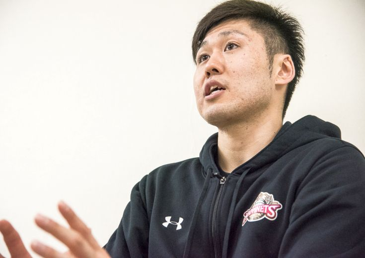 秋田ノーザンハピネッツの『シンボル』田口成浩、B1を意識しつつB2の戦いに集中する『覚悟のシーズン』を歩む