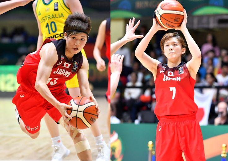町田瑠唯&水島沙紀、若い世代の躍進を支える側に回った2人が強気のゲームメークと3ポイントシュートで勝利の立役者に
