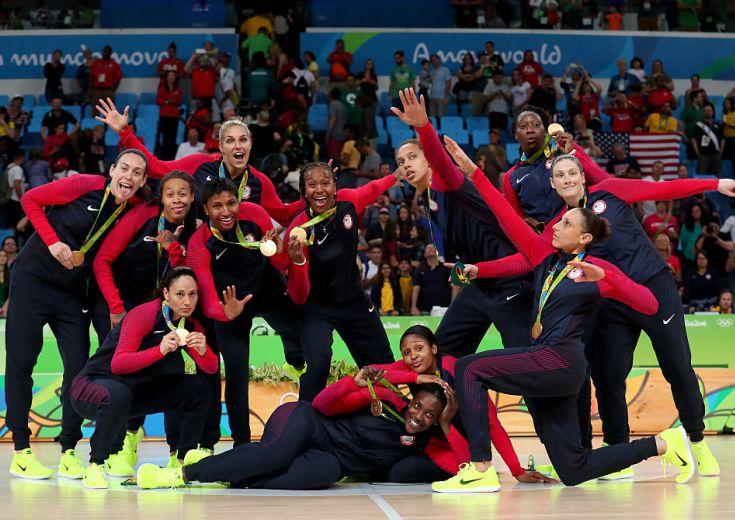 女子『チームUSA』がバスケ6連覇達成! スペインにも圧勝しリオ完全制覇