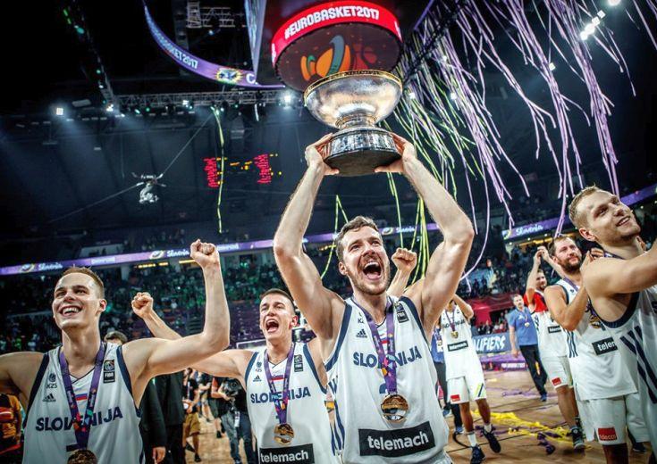 スロベニアがユーロバスケット初優勝! 大会MVPは決勝戦で35得点を記録したNBAヒート所属のゴラン・ドラギッチに