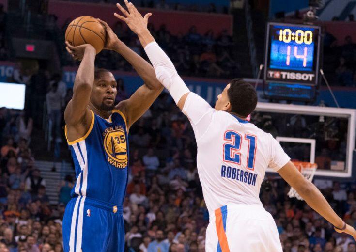 デュラントがアンドレ・ロバーソンを称賛「NBAで最もディフェンスのうまい選手」