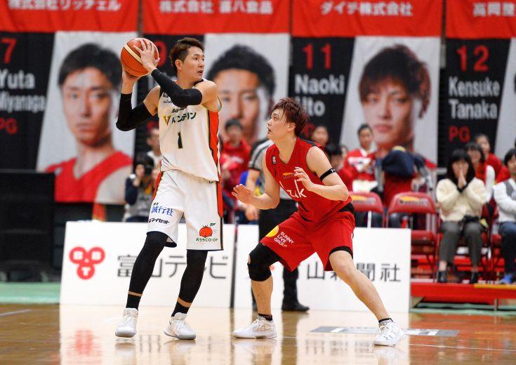 横浜ビー・コルセアーズ、今季最多97得点で富山グラウジーズとの打ち合いを制す