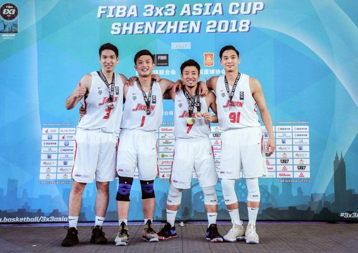 3x3男子日本代表がアジアカップで躍進、落合知也のKO弾で国際大会メダル初獲得