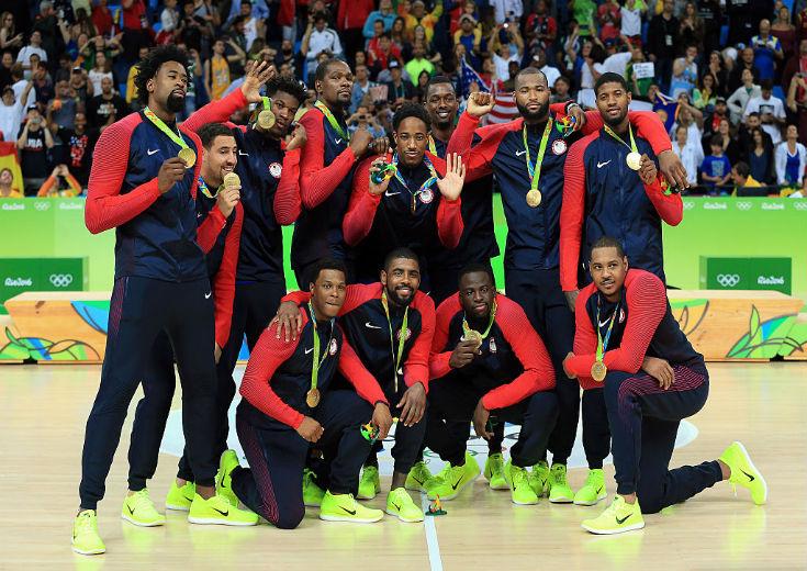 グループリーグで苦戦したセルビアを下し、チームUSAが3大会連続での金メダル獲得